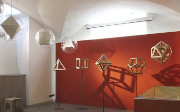 The Shapes of Numbers- A History of polyhedrons from Plato to Poinsot, passing through Luca Pacioli. Exhibition hall, Florence, Museo di Storia della Scienza