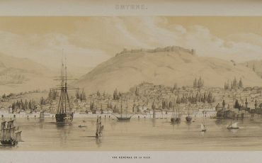 1 Vista sobre Esmirna da autoria de Alexandre de Laborde, 1838. Public Domain