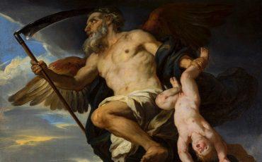 1 Chronos e um seu filho. Domínio Público