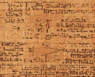 1 Papiro de Rhind. Creative Commons